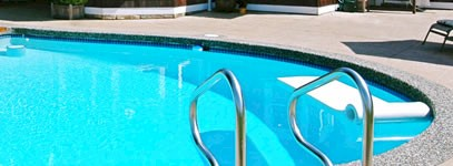 new swimming pool painting