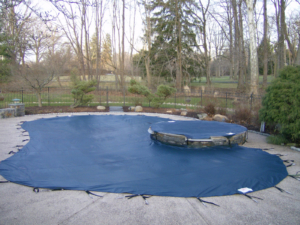 Install new mesh swimming pool covers